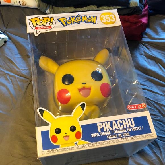 Large Pikachu Funko Pop Target exclusive